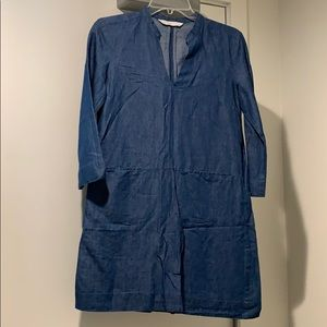 Denim Zara Dress with Pockets
